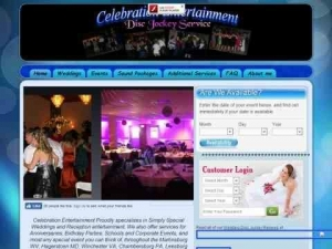Celebrations Entertainment Disc Jockey Services